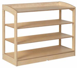 Material Cabinet: open back-produs original Nienhuis Montessori-prin Didactopia by Evertoys