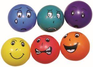 Mingile emotiilor - Competente sociale prin joaca - Set 6 mingi 2