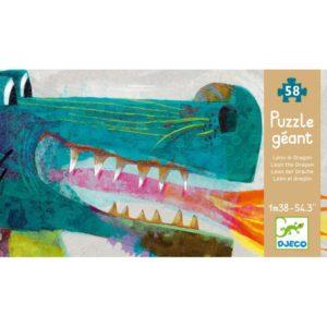 Puzzle gigant Djeco Dragon-DJECO-Didactopia