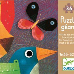 Puzzle gigant Djeco Parada animalelor-DJECO-Didactopia