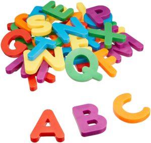 Set de 40 de litere magnetice ( majuscule ) - Alfabet - Dezvoltare cognitivă - Learning Resources 2
