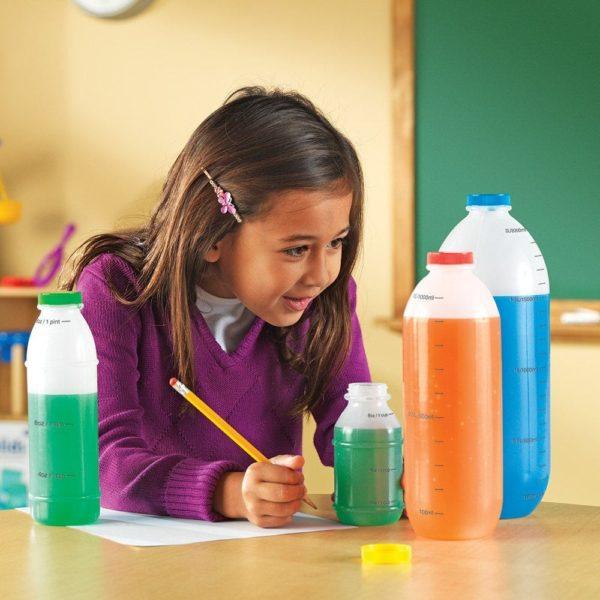 Set de sticle pentru masurat lichide - Learning Resources 4
