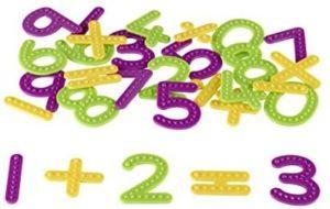 Set tactil - Cifre si operații - Dezvoltare cognitivă şi senzorială - Learning Resources UK