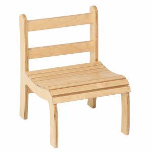 Slatted Chair: High-produs original Nienhuis Montessori-prin Didactopia by Evertoys