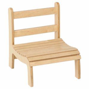 Slatted Chair: Low-produs original Nienhuis Montessori-prin Didactopia by Evertoys