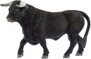Taur negru - Animale domestice - figurine Schleich - 13875