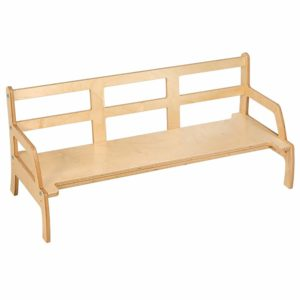 Toddler Bench: Adjustable Height-produs original Nienhuis Montessori-prin Didactopia by Evertoys
