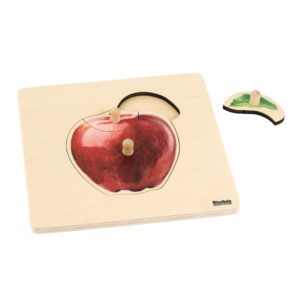 Toddler Puzzle: Apple-produs original Nienhuis Montessori-prin Didactopia by Evertoys