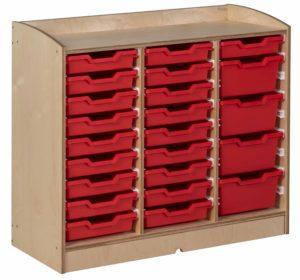 Tray Cabinet-produs original Nienhuis Montessori-prin Didactopia by Evertoys