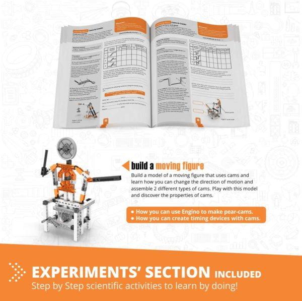 Engino Discovering STEM - Mecanică - Came și manivele - Engino 3