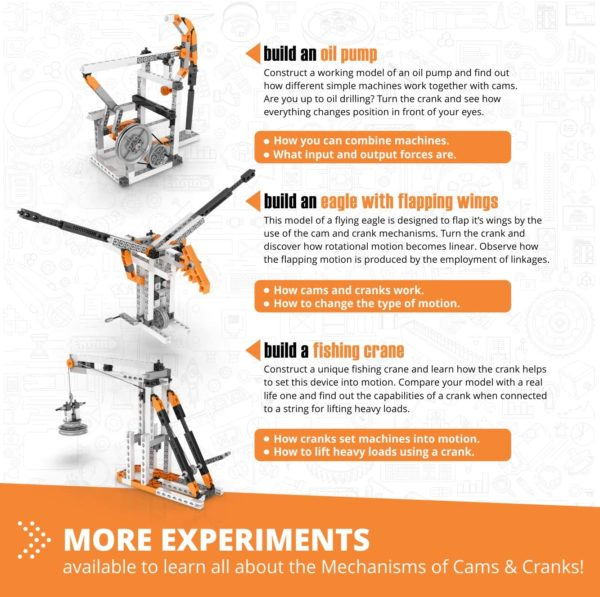 Engino Discovering STEM - Mecanică - Came și manivele - Engino 4