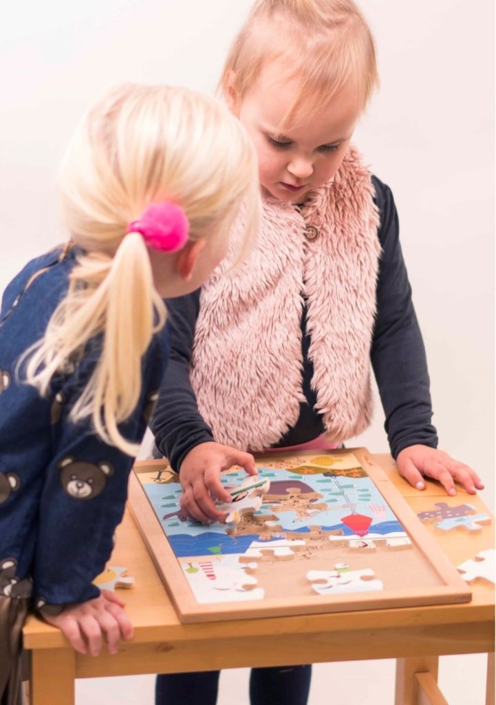 În mare - Colecția - Deasupra și dedesubt - puzzle educativ din lemn - Educo by Didactopia 1