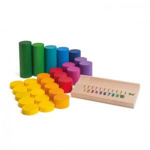 Învățăm să numărăm până la 10 - Joc educativ - Erzi by Didactopia 1