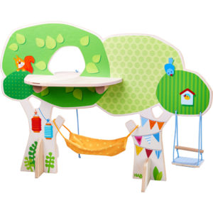 Little Friends - Casuta din copac - Treehouse - HABA by Didactopia 2