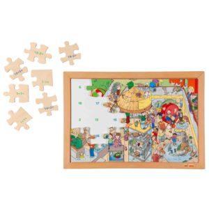 Magazinul de animale - Sensul numerelor până la 20 - Puzzle matematic - Educo by Didactopia 1