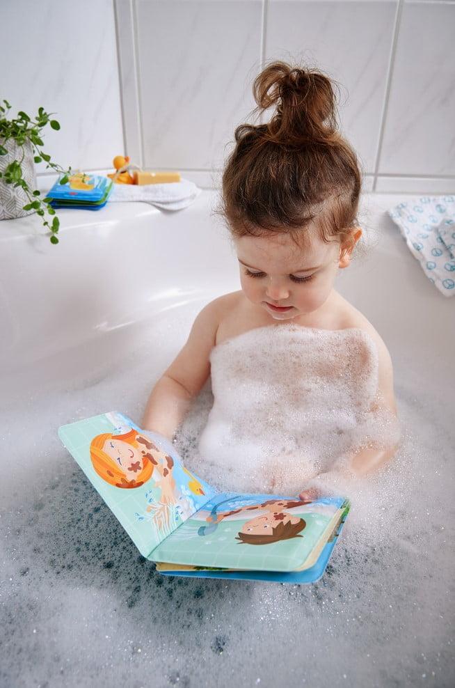 Paul si Pia. Timpul pentru baie - Carte tip jucărie pentru baie - HABA by Didactopia 2