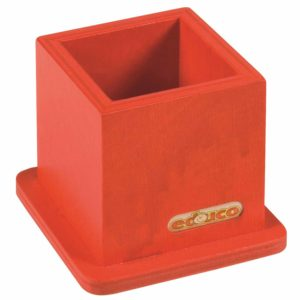 Pencil stand - Red-Educo-prin Didactopia by Evertoys