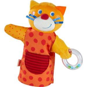Pisica muzician - Păpuşă de mână pentru teatrul de păpuşi - HABA by Didactopia 2