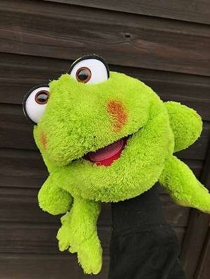 Rolf cel murdărici - Marionetă - Păpuşă de mână, 40 x 40 cm - Original Living Puppets® 3