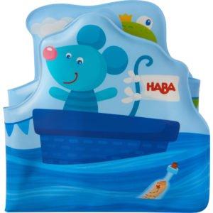 Salut animaluțe marinari! - Carte tip jucărie pentru baie - HABA by Didactopia