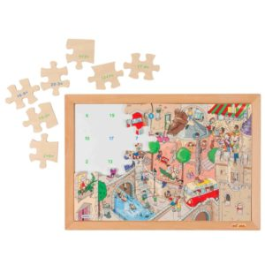 Sensul numerelor până la 20 - Puzzle matematic - Educo by Didactopia 1