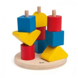 Set Educativ - Forme Geometrice de Stivuit - Ezi by Didactopia 2
