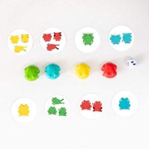 1-2-3 Froggies - Joc de numărare și potrivire - Educational-Insights by Didactopia 4