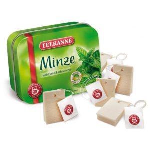 Ceai de mentă la cutie - Teekanne - Set alimente lemn de jucărie pentru copii - Erzi Germania 1