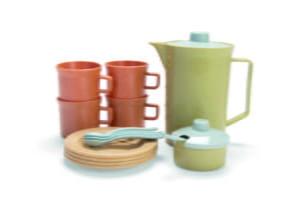 Serviciu de cafea - BIO-Plastic - 17 piese - Dantoy by Didactopia 3