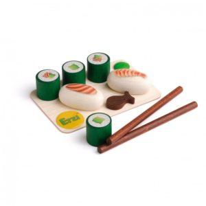 Sushi - Set alimente lemn de jucărie pentru copii - Erzi Germania 1