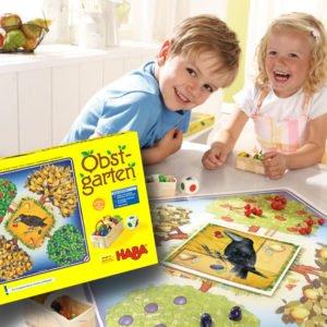 Corbul si livada - Obstgarten - joc Haba - prin Didactopia