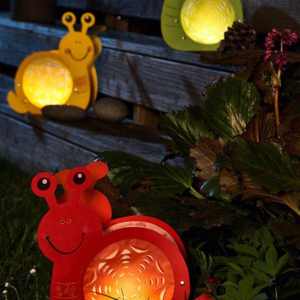 Felinare - Melcii luminoşi - Set creație copii - Bricolaj - Fălţuire Haba Sachenmacher