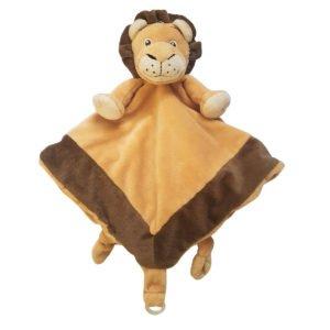 Leu - Păturică Bebe de îmbrăţişat - Baby Security Blanket - Schmusedecke - My Teddy Original in Romania prin Didactopia