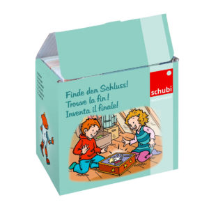 Gaseste finalul - Finde den Schluss - joc dezvoltare limbaj - original Schubi Westermann - Didactopia