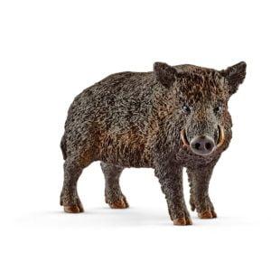 Porc mistret 14783 - Wild Life - Figurina originala Schleich - Didactopia