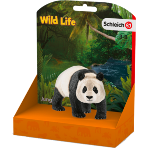 Urs Panda mare 14772 - Wild Life - Figurina originala Schleich - Didactopia 2