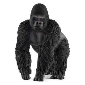 Gorila mascul 14770 - Wild Life - Figurina originala Schleich - Didactopia