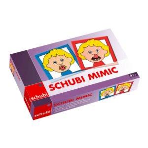 SCHUBI Mimic - Cartonase dezvoltare motricitatea mimicii - original Schubi Westermann - Didactopia 3