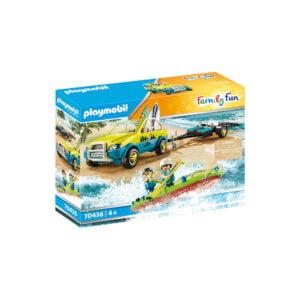 MASINA DE PLAJA CU CANOE-Playmobil-Family Fun-PM70436