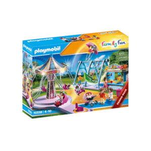 PARC DE DISTRACTII-Playmobil-Family Fun-PM70558