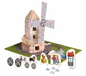 Brick Trick - Moară de vânt - Set construcție - Trefl prin Didactopia 2