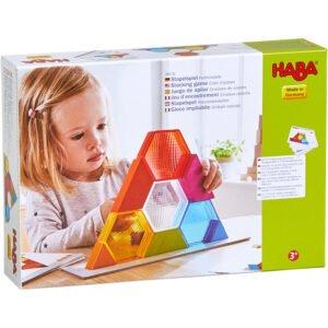 Cristale colorate - Joc de construcție - Haba by Didactopia 4