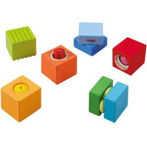 Cuburi amuzante cu sunete - Dezvoltare senzorială - Haba by Didactopia 1