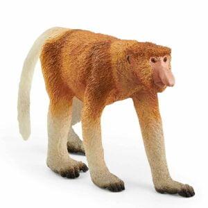 Maimuta cu trompa 14846 - Wild Life - Figurina originala Schleich - Didactopia