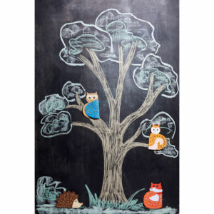 Prietenii toamnei - Stickere cu animale - Set bricolaj - Haba prin Didactopia 1