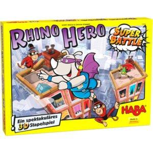 Rhino Hero – Super Battle - Joc de atenție și îndemânare - Haba by Didactopia 2