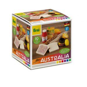 Set alimente lemn de jucărie pentru copii - Australia - Erzi by Didactopia 1
