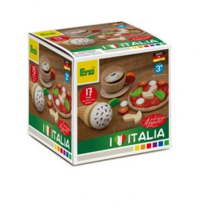 Set alimente lemn de jucărie pentru copii - Italia - Erzi by Didactopia 1