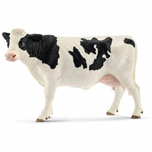 Vaca Holstein 13797 - Farm World - Figurina originala Schleich - Didactopia