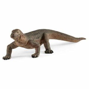 Varan de Komodo 14826 - Wild Life - Figurina originala Schleich - Didactopia